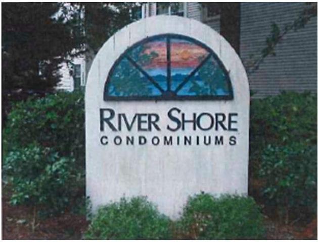 River Shore Sign