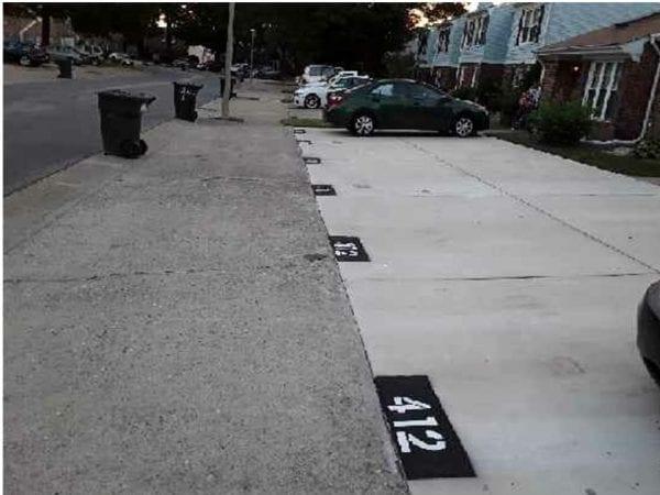 parking pads